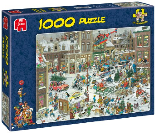 Jan Van Haasteren Christmas Puzzle - 1000 Pieces