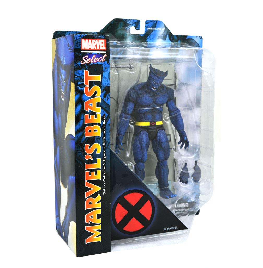 DIAMOND SELECT TOYS Marvel Select Beast Action Figure Diamond Comic Distributors MAR182431