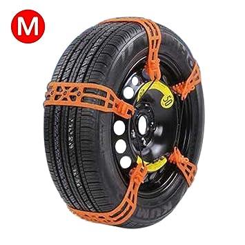 10 piezas de nieve antideslizante ruedas cadenas de neumáticos, cadenas de nieve del coche Jack