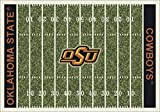 Milliken 4000054648 Oklahoma State College Home Field Area Rug, 3'10'' x 5'4''