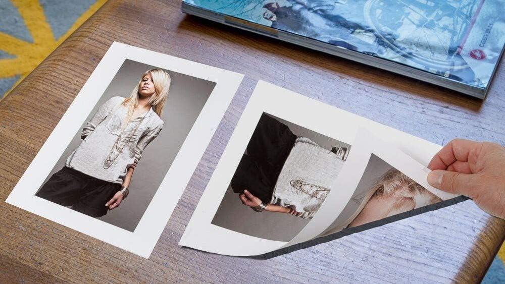 Doble Cara para impresi/ón de inyecci/ón de Tinta A4 180m g//m/² X 50 Hojas PPD-42-50 PPD Papel fotogr/áfico con Acabado Brillante y Mate