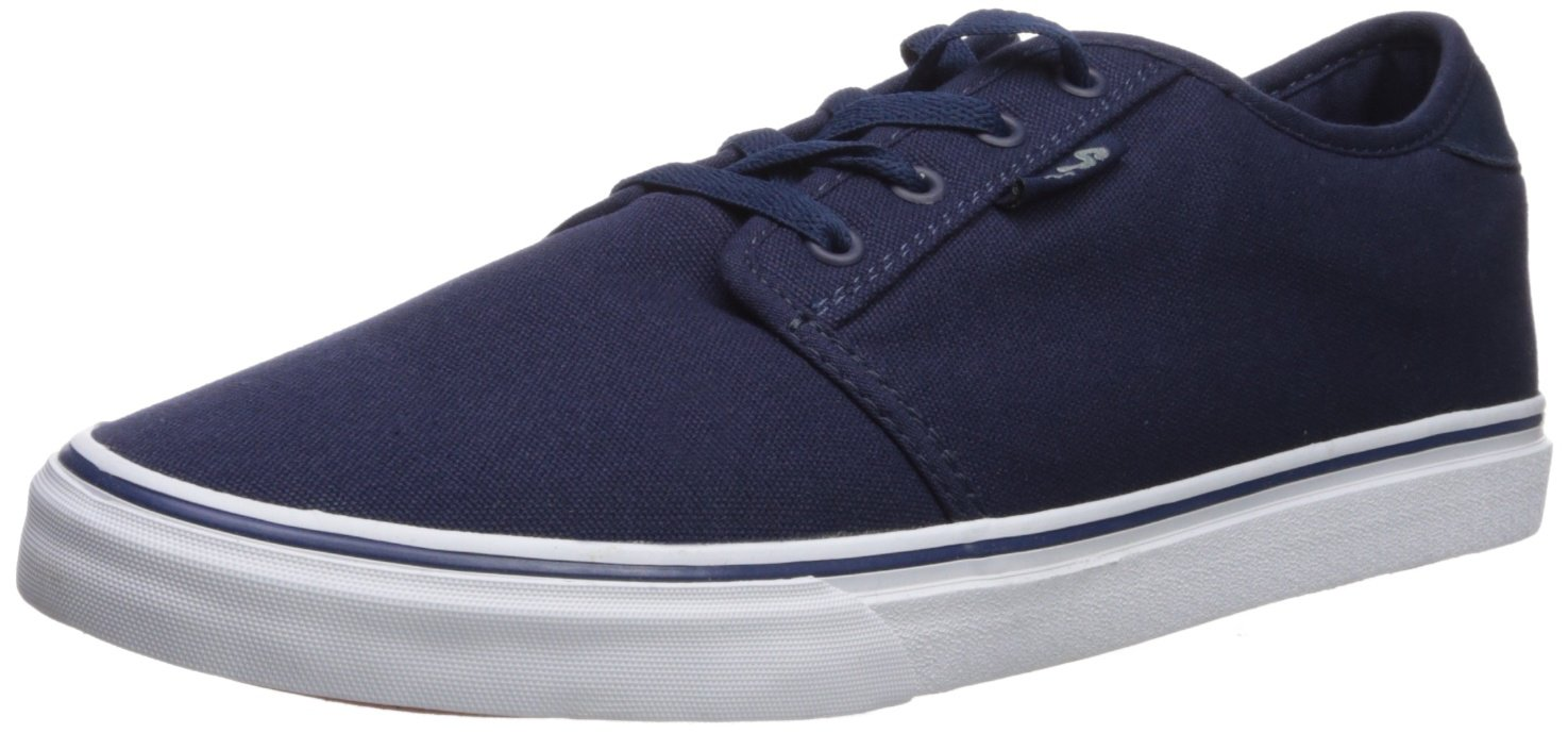 Fila Men's Easterly Canvas Walking Shoe 7 D(M) US|Fila Navy/White