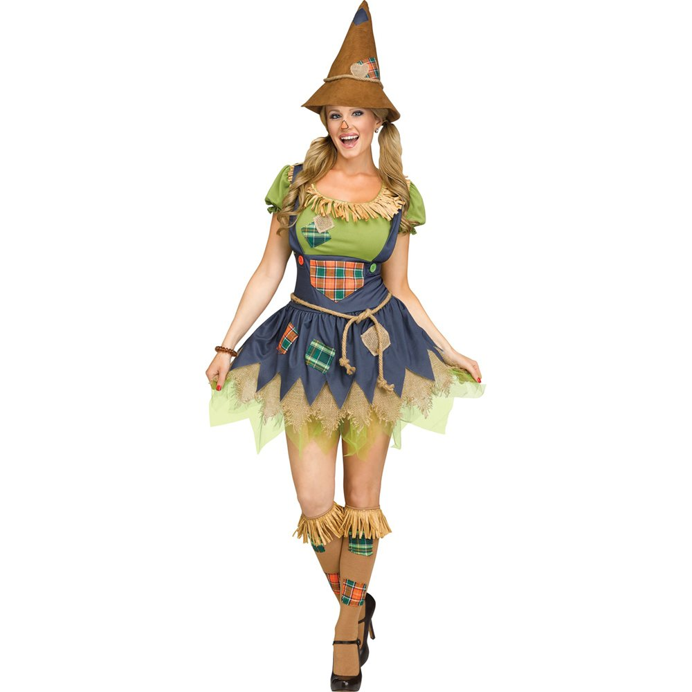 Scarecrow Wizard Oz Womens Adult Costume