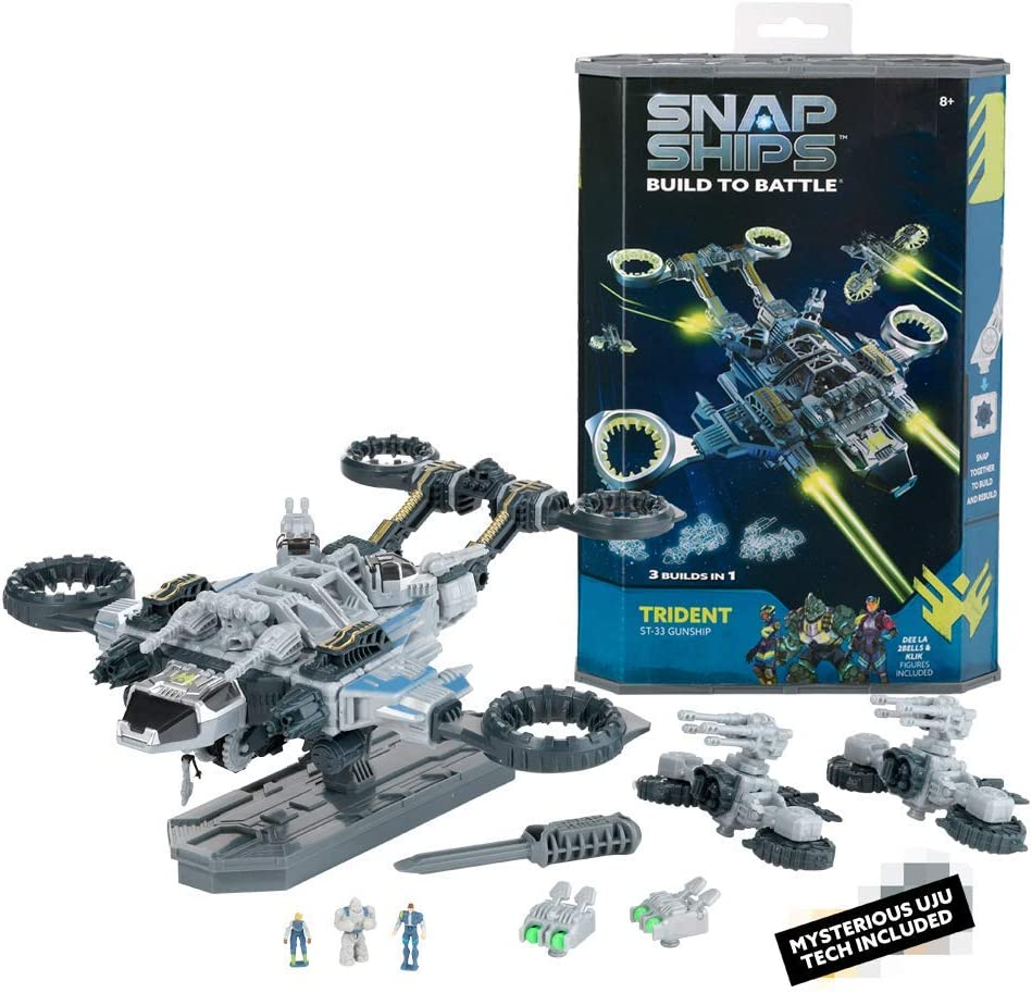 PlayMonster 100-Piece Snap Ships Trident $9.99 Coupon
