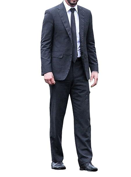 Amazon.com: John Wick 2 Keanu Reeves – Negro 2 pieza traje ...
