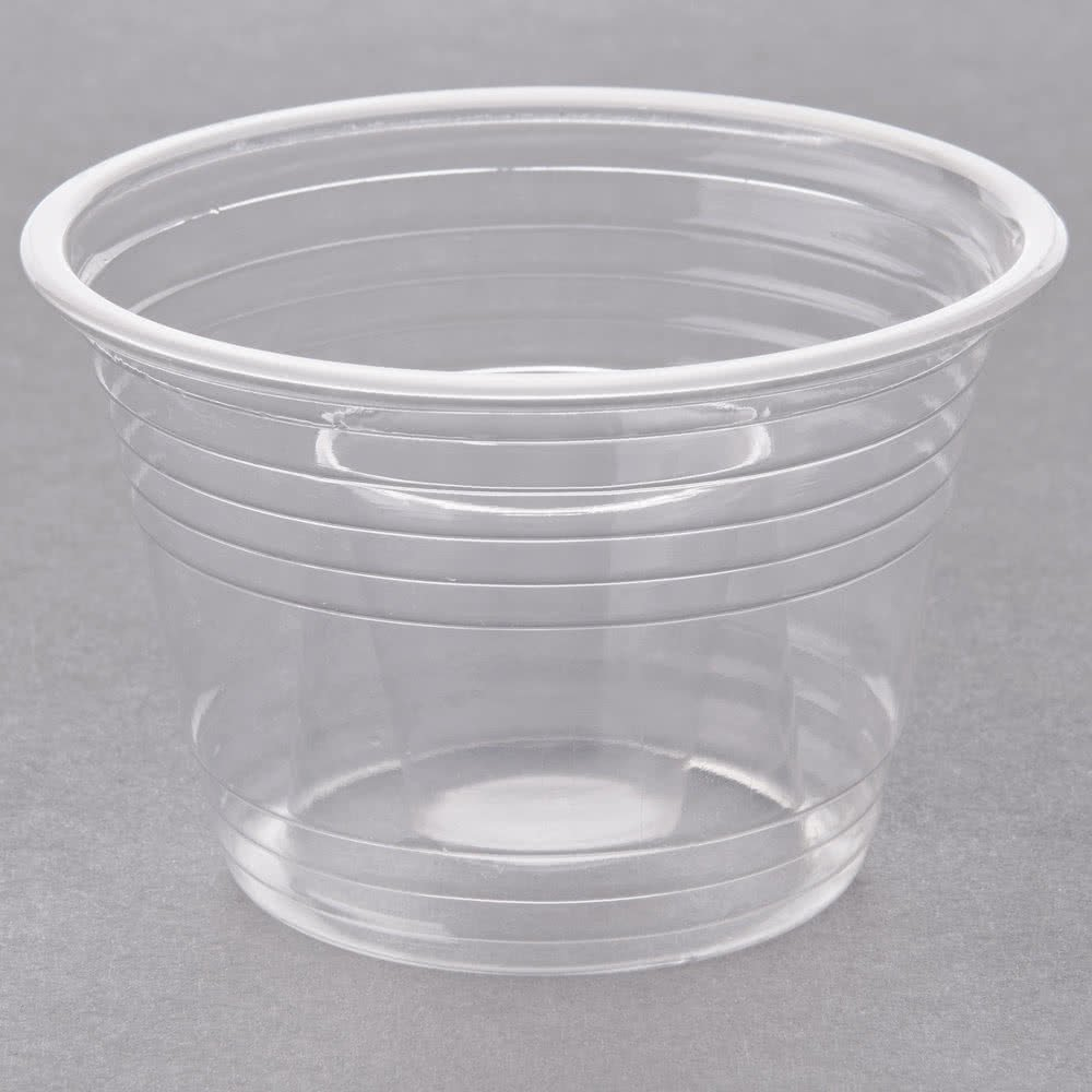 Disposabomb Clear Bomb Shot Cup / Power Bomb - 500/Case by Disposabomb