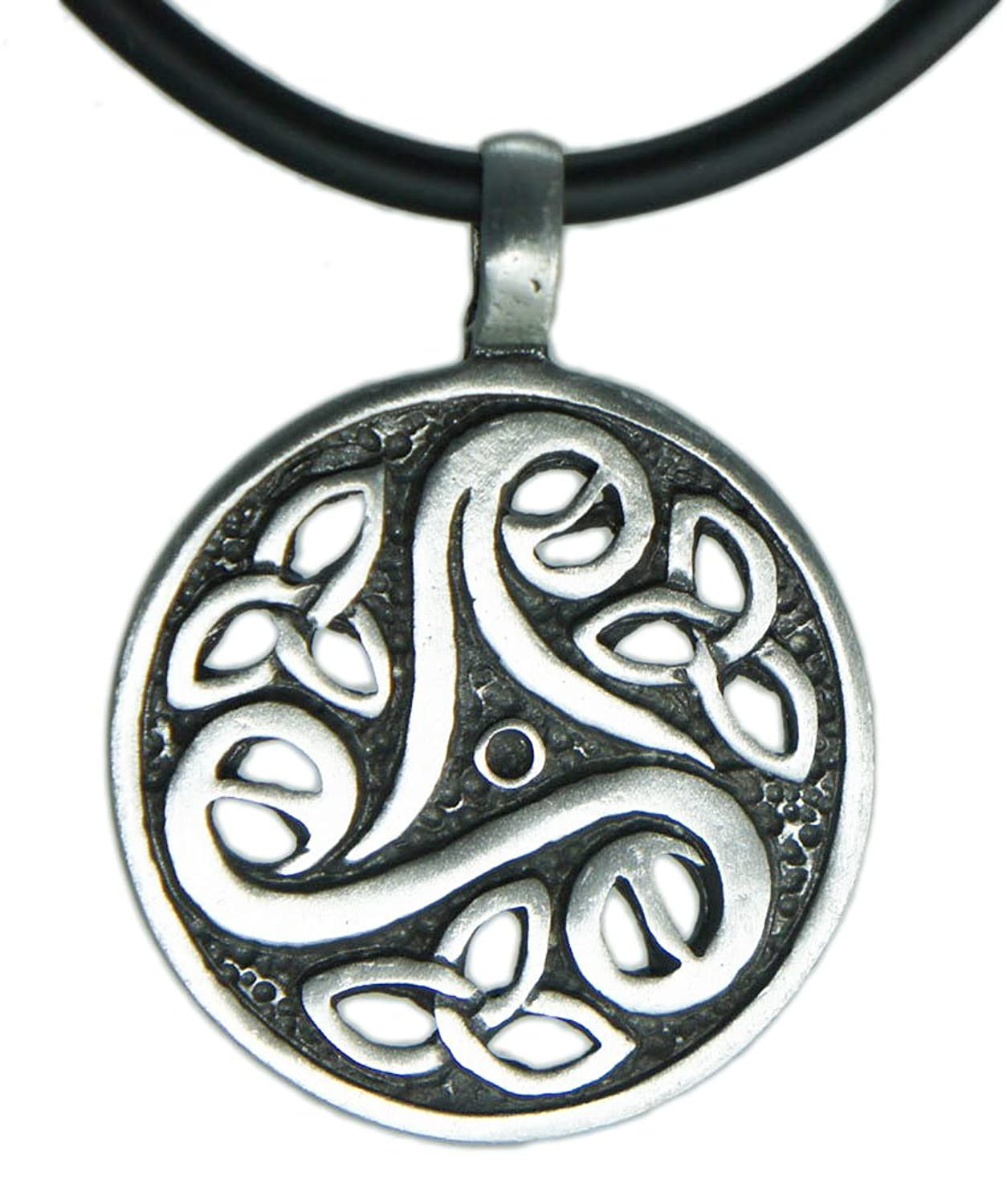 Amazon Triskele V Magic Merlin Celtic Pewter Pendant 18 Pvc