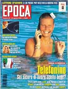 Epoca Magazine #34 August 1996: Various: 9770013971000: Amazon.com