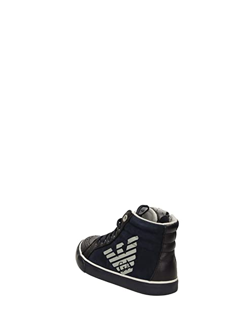 ARMANI - Scarpa - Sneaker blu stringata 77ccd32015c