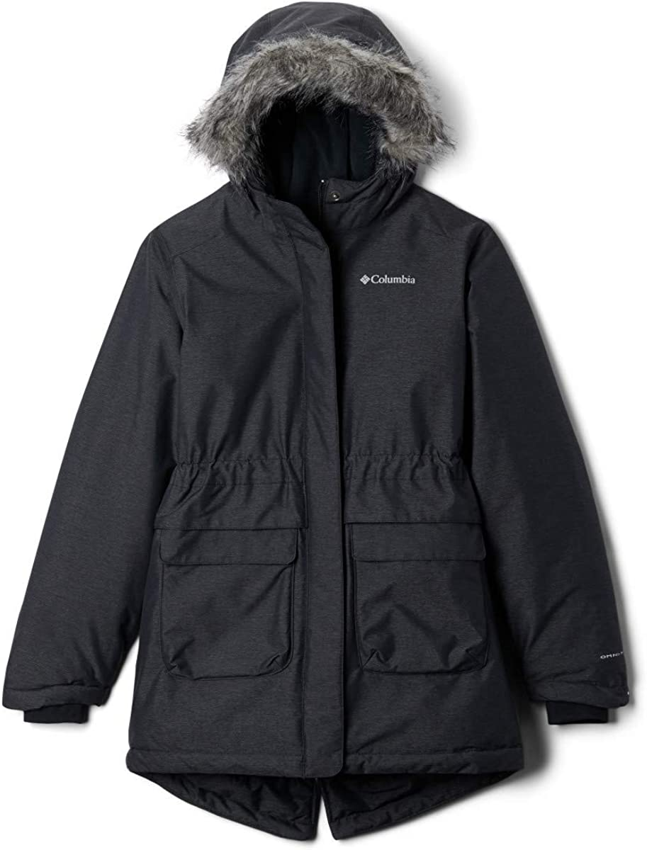Columbia Girls' Nordic Strider Jacket, Thermal Reflective Warmth: Clothing