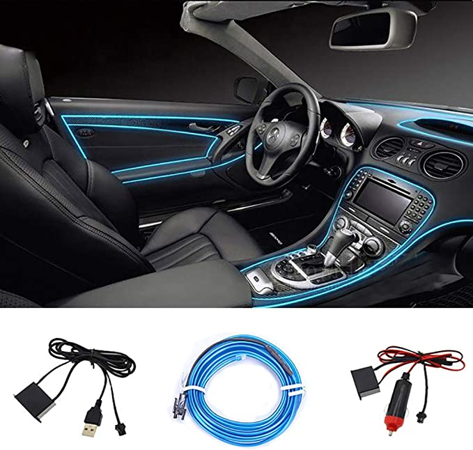 Seametal Led Innenbeleuchtung Auto 5m Led Auto Led Strip Upgrade Usb Ambientebeleuchtung Auto Streifen 5v 12v Auto