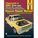 Chevrolet & GMC Pick-Ups Automotive Repair Manual: 1967 Thru 1987
