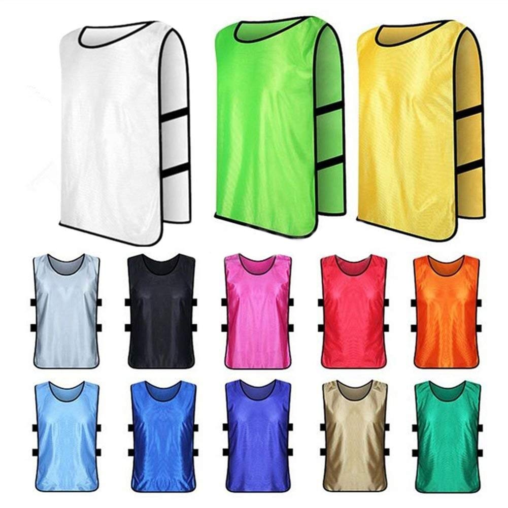 Yevison Sports Training Bibs Vests,Multi-Sport Quick-Drying Vest For Soccer Football Basketball Team Uniform Shirt Durable and Practical by Yevison (Image #2)