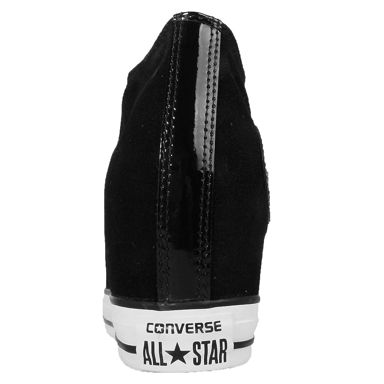 Converse All Star CT Lux Mid Black Chaussures de Sport Noir Cuir 549558C   Amazon.fr  Chaussures et Sacs 749916792a76