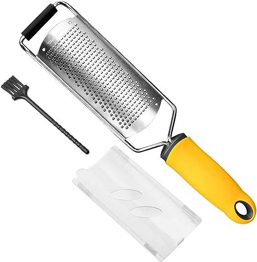 Amazon.com: Siasky - Rallador de queso de acero inoxidable ...