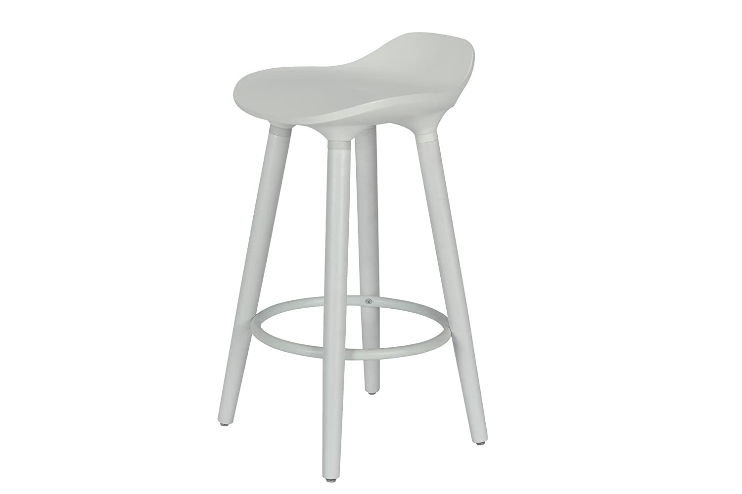 Amazoncom Dhp Odessa Modern Design Counter Stool White Kitchen