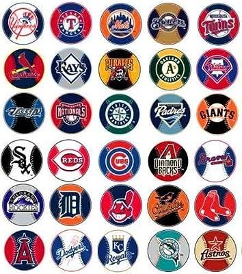 MLB Major League Baseball Prismatic Stickers Set of 30 Teams