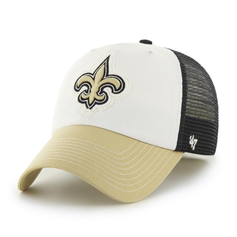 472ee4367911a  47 Orleans Saints Brand Privateer Closer Mesh Flex Fit Hat