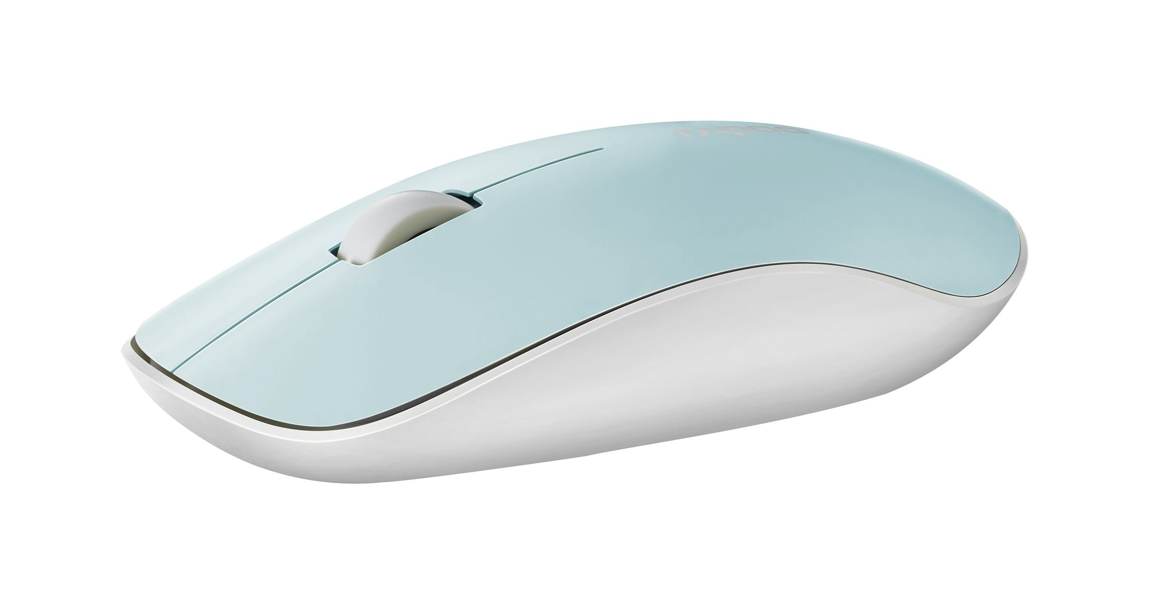 ARION Rapoo 5.8 Ghz Wireless Mouse 3500P Optical Mouse for Notebook PC Laptop and Computer - Light Blue