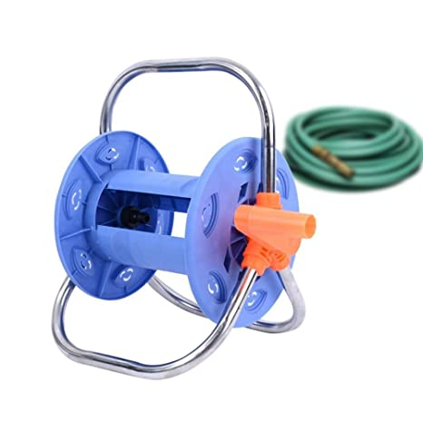 Amazon com : Luerme Garden Hose Reel Stand with Wheels Water
