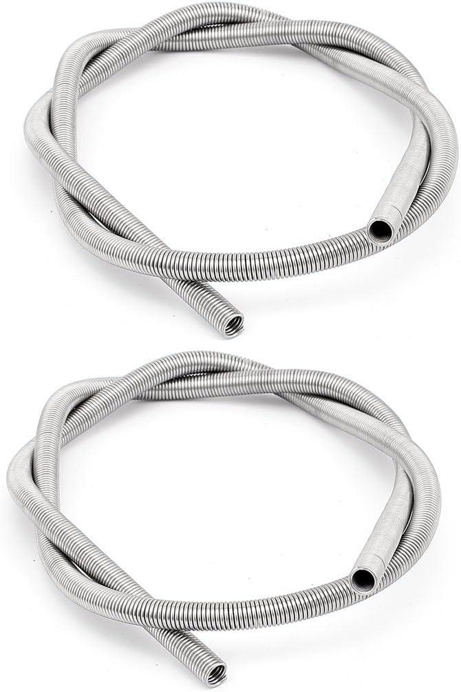 sourcingmap® 2 pcs AC220V 2500W horno de calor Calentador elemento bobina cable de 73cm largo