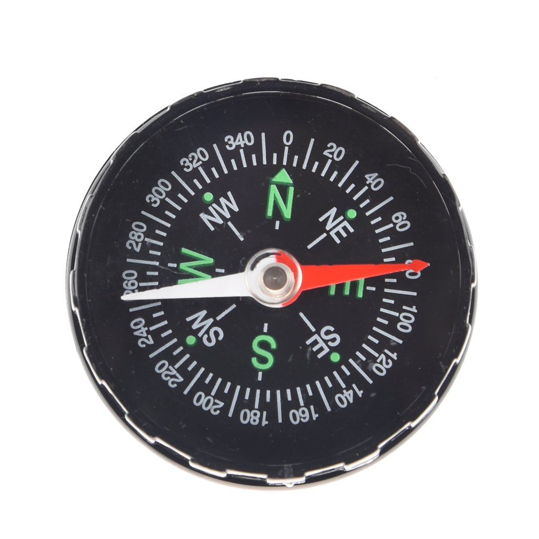SODIAL(R) Black Oil Filled Compass Excellent for hiking, camping and outdoor