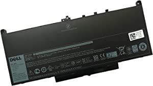 DELL J60J5 7.6V 55Wh 4-Cell Notebook Battery for DELL Latitude E7270 Latitude E7470 Laptop P/N: J60J5 R1V85 WYWJ2 5F08V MC34Y 242WD 451-BBSY 451-BBSX 451-BBSU