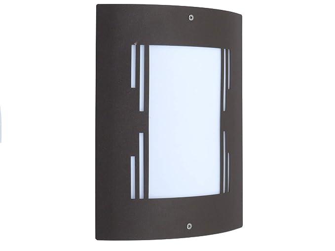 Lampade Da Parete Per Esterni : City applique lampada da parete per esterno design moderno