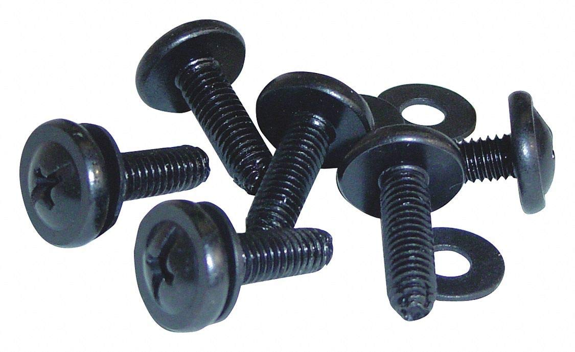 Rack Screws, For Use With Racks, Enclosures, Phillips Type