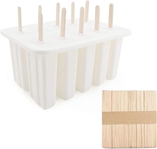 Amazon.com: Chokov - Moldes para paletas de hielo (10 ...