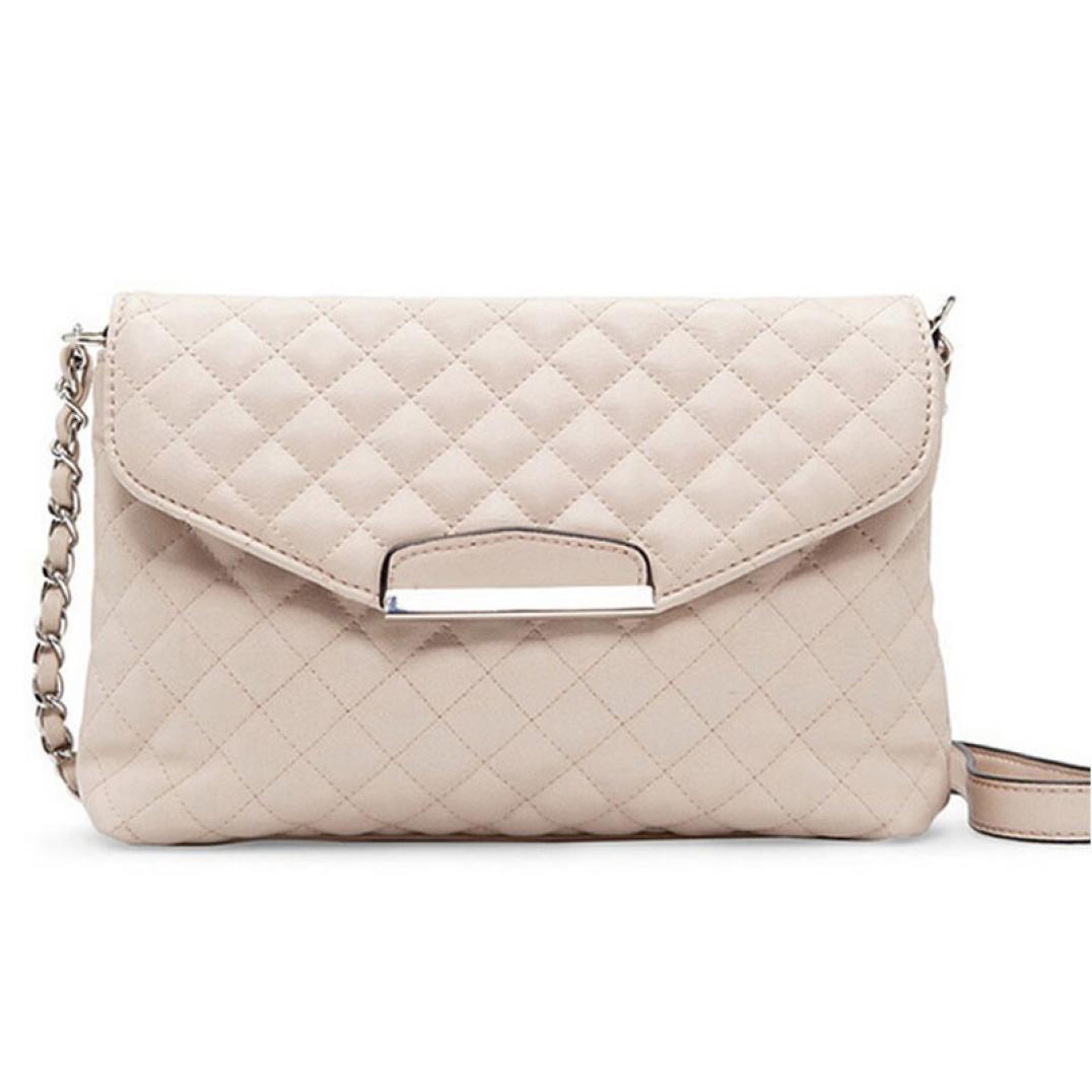 Hmeng Umhängetaschen für Frauen Schultertasche❤️ Ledertasche Clutch Handtasche Tote Handtasche Hobo Messenger (Beige)