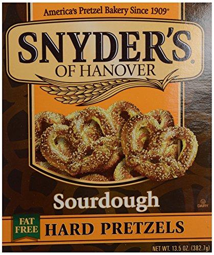 Hanover Sourdough Pretzels (Snyder's of Hanover Sourdough Hard Pretzel Box - 13.5)