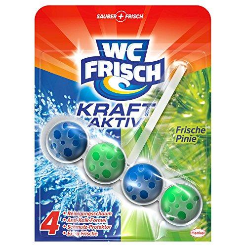 WC Frisch Kraft-Aktiv Duftspüler Pinie, WC Frische, 10er Pack (10 x 1 Stück)