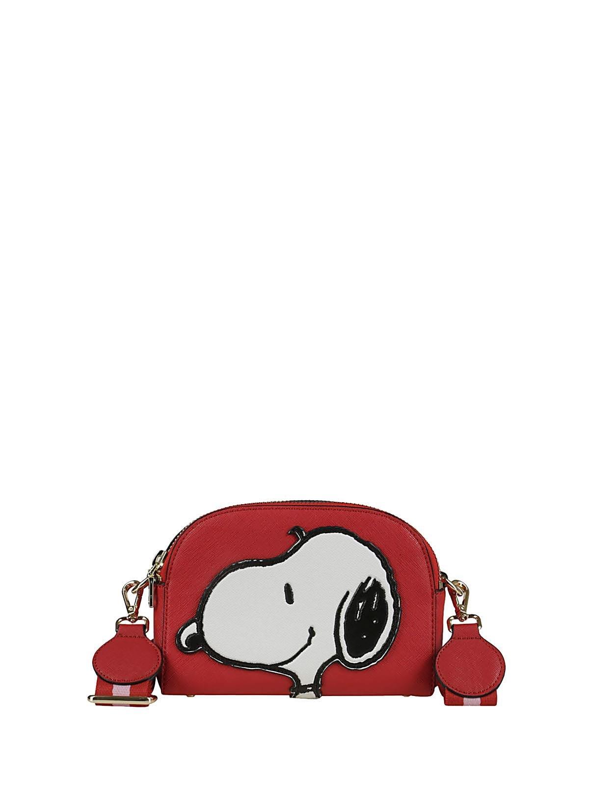 Essentiel Women's Polippiar20 Red Leather Beauty Case