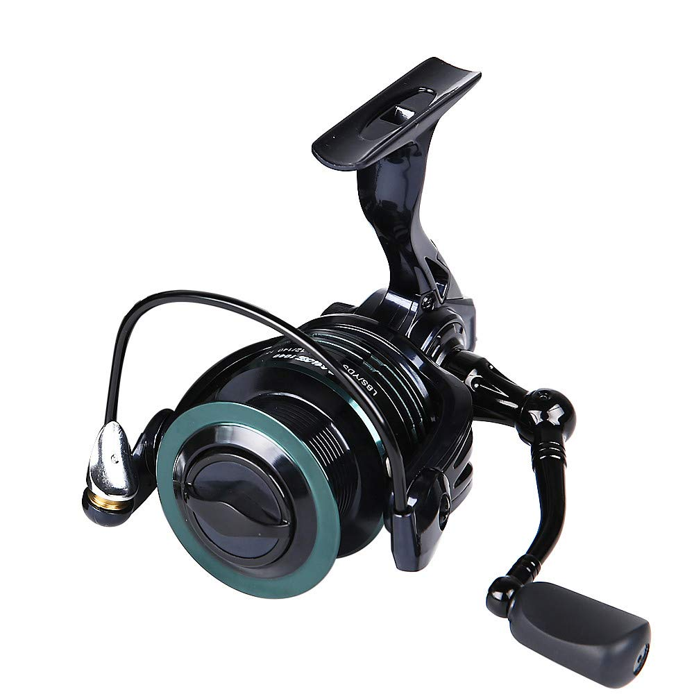 SMyFone Aluminum Spool Smooth Powerful 9+1 BB Spinning Baitcasting Fishing Reel for HONOREAL