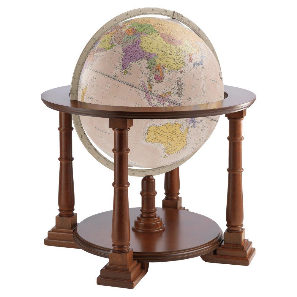 Zoffoli Mercatore 20-in. Antique Ocean Floor Globe
