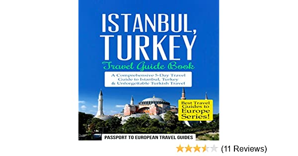 Tourist guide books of istanbul and turkey, istanbul, turkey stock.