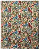 Mudit Crafts Cotton Kantha Quilt Bedspread Queen