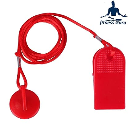 Fitness Guru Magnetic Treadmill Running Machine Safety Key Security Switch