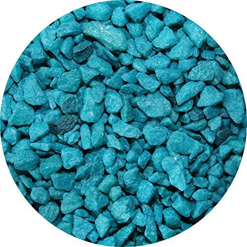 Spectrastone Special Turquoise Aquarium Gravel for Freshwater Aquariums, 5-Pound Bag
