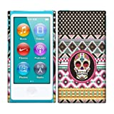 Apple iPod Nano 7 (7th Generation) Case, Fincibo (TM) Back Cover Hard Plastic Protector, Aztec Skull