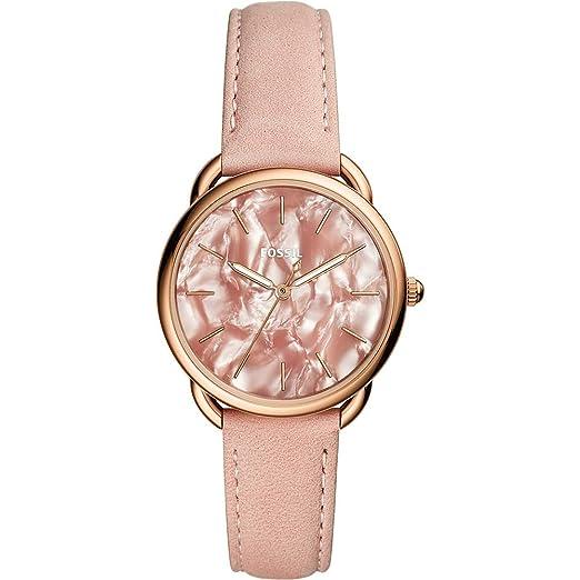 Fossil Reloj Analógico para Mujer de Cuarzo con Correa en Cuero ES4419: Amazon.es: Relojes