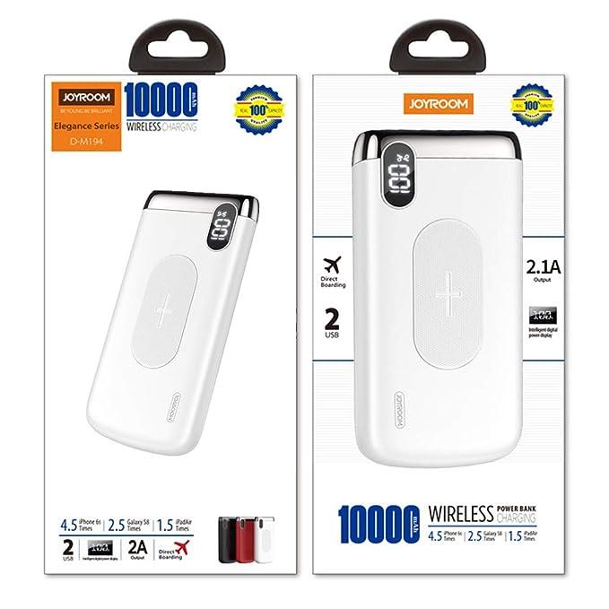 Amazon.com: Xiaoleit - Cargador inalámbrico para móvil (2,1 ...