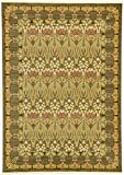 Cheap Unique Loom Edinburgh Collection Oriental Traditional French Country Brown Area Rug (7′ x 10′)
