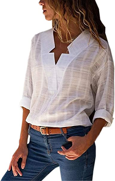 Oasisocean Womens Summer Cold Shoulder Short Sleeve Twist Knot Blouses Striped T Shirt Tops