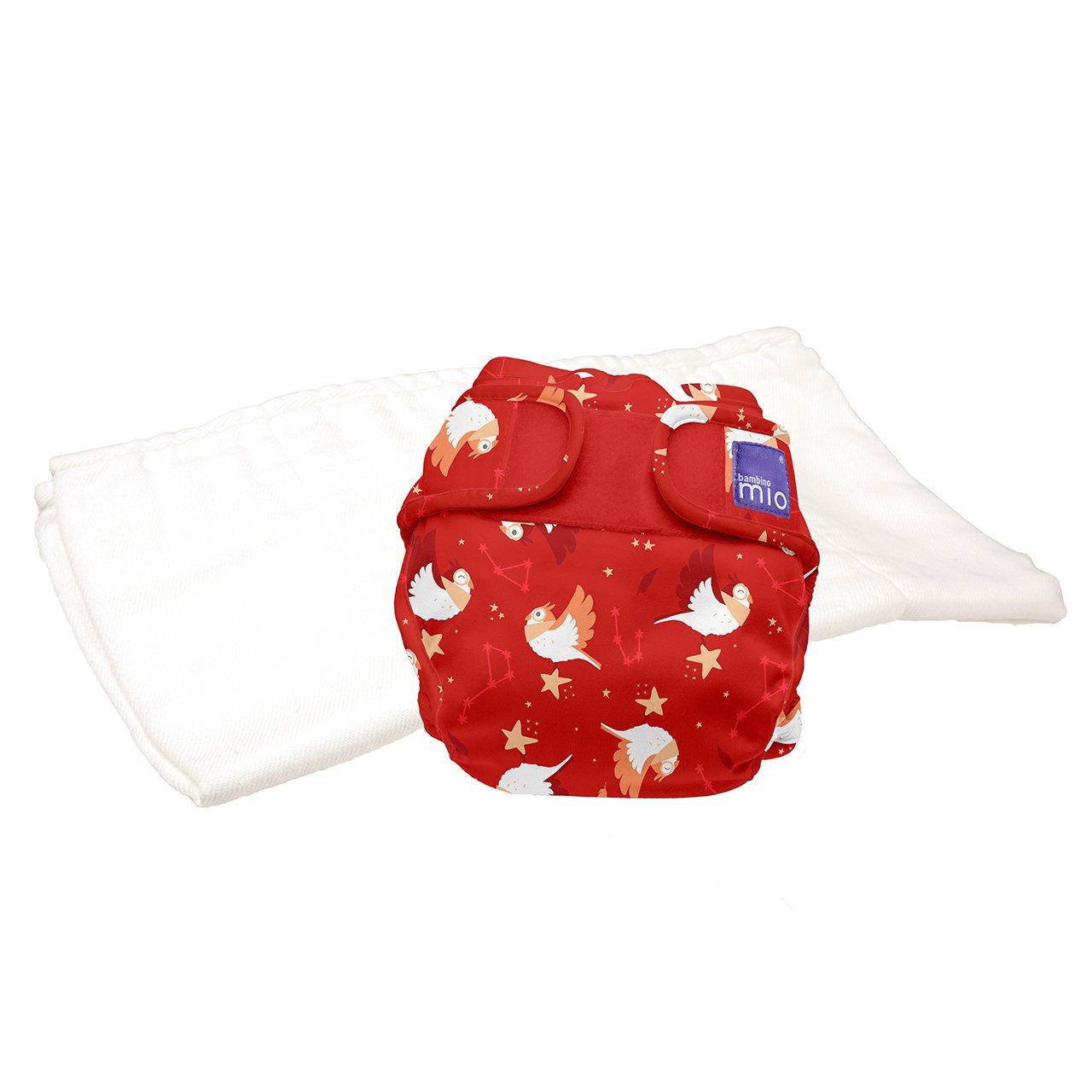 9kgs miosoft two-piece diaper trial pack Bambino Mio cloud nine size 1