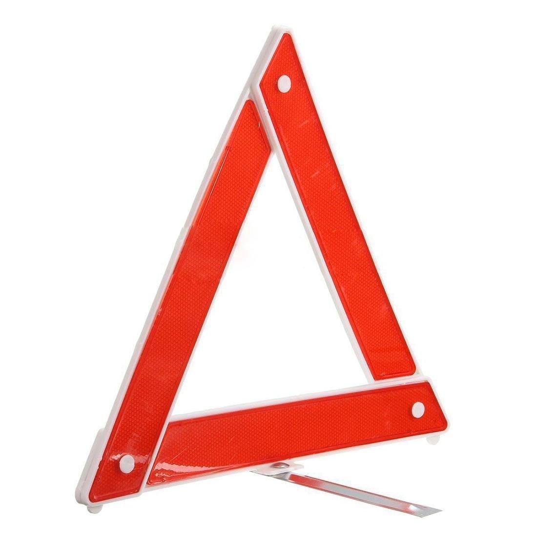 TOOGOO(R) Reflektieren Warndreieck Warnsignal Dreieck Auto Notfall Pannenwarndreieck Dreieck 099513