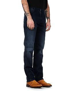 b30d0166 Wrangler Mens Dark Grey 'Texas' Straight Leg Trousers: Amazon.co.uk ...