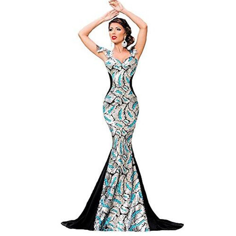 Ntnt Silber Schwarz Damen Sequin Verschonerung Elegant