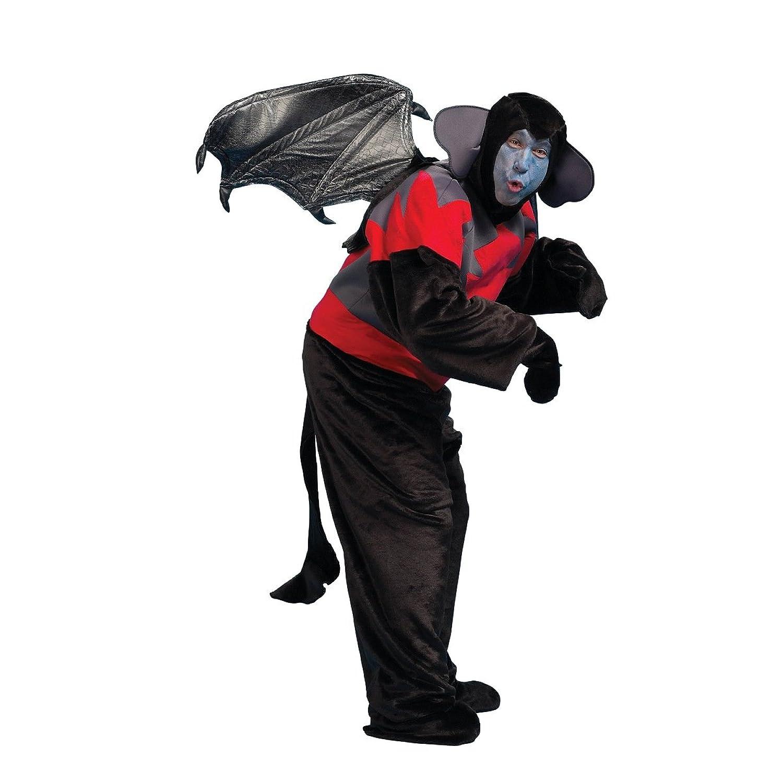 amazoncom peter alan 6493ad adult flying monkey costume one size clothing - Halloween Monkey Costumes